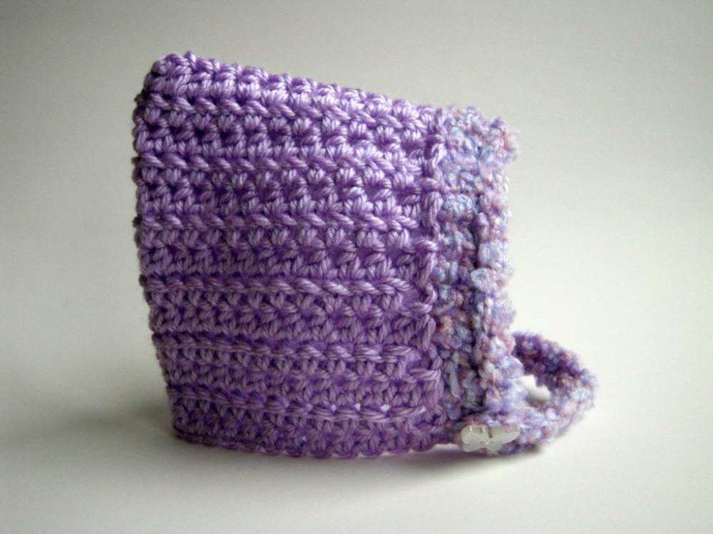 Newborn Winter Chin-Strap Bonnet
