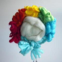 Newborn Clown Bonnet